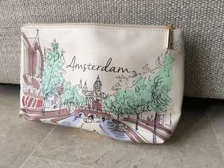Spacious new Dual-function Toiletry / Make Up Bag