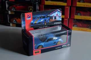 Porsche Cayman Race Blue