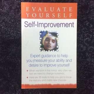 Self Improvement Evaluate Yourself