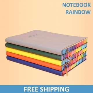 Rainbow Paper Notebook / Notepad / Journal