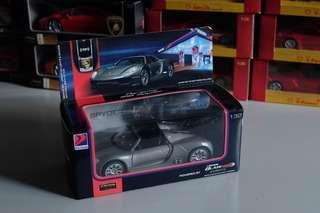 Porsche 918 Spyder Grey