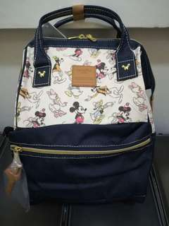 Authentic Limited Edition Disney Japan Special collaboration with Anello (R) Backpack – Mickey & Friends