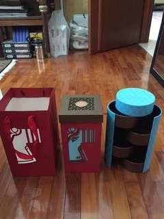 Four Seasons Hotel Mooncake boxes