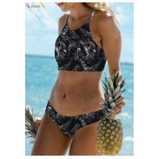 PRICE DROP! Back Lace Up Bikini Set Swimwear