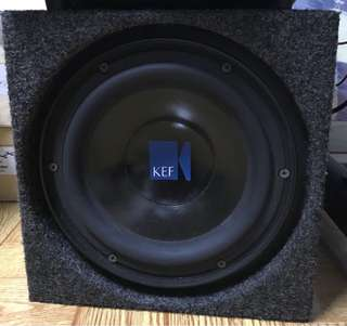 KEF 8inch woofer with box