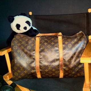Louis Vuitton KeepAll 45 not prada gucci hermes lv mk coach