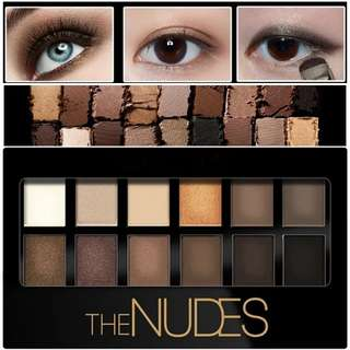 12 Colors Eye Shadow Pearl Lasting Daily Cosmetics Eyeshadow Pallete Make Up Dark Lines The Nudes