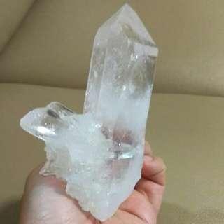 🌟天然白水晶柱(D006)