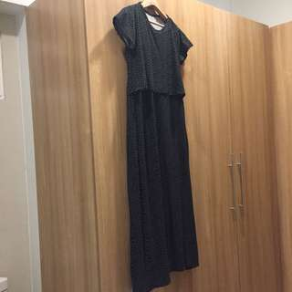 Maxi nursing dress