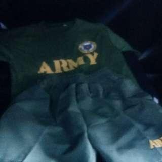 Army suite dor kids