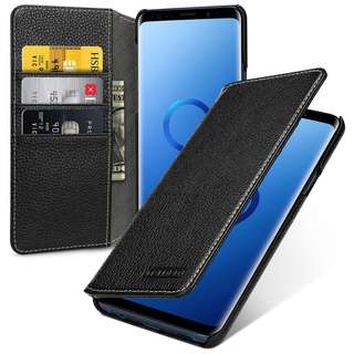 Samsung Galaxy S9 Plus Leather Case -- Mellac II (LC: Black)