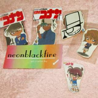 DETECTIVE CONAN STICKERS 14 php per pack