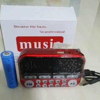 Portable Mini FM Radio
