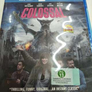 Colossal English movie Blu-ray + dvd
