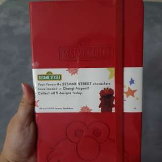 Sesame Street Elmo/Red Notebook