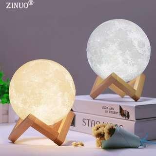 Moon Lamp 3D Touch Light Switch 3D Print Lamp Night Light