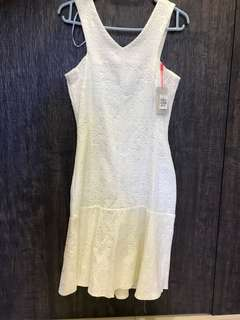 Brand new white dress from Tangs