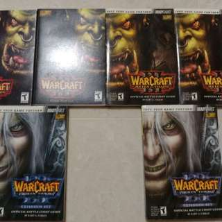 Warcraft 3 Guide Books