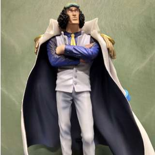 One piece figure collectible: Admiral Aokiji (3/3)