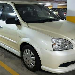 Naza citra 2.0 auto white pearl (LOW mileage)