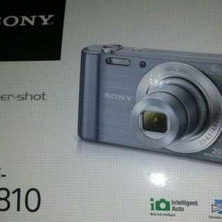 Sony camera w810