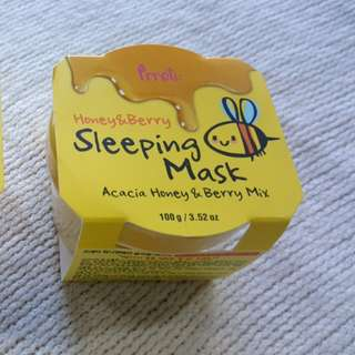 PRETTI Honey & Berry Sleeping Mask 100g