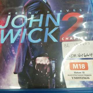 John wick 2 English movie Blu-ray