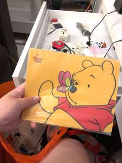 Pooh mouse pad