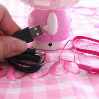 Hellokitty minifan Rechargeable