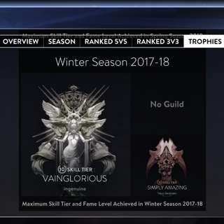 Vainglory Account