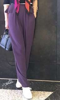 brand new with tag aalis purple pants