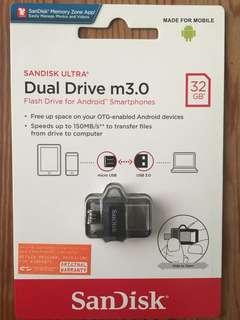Sandisk Dual Drive USB3.0 (32GB)