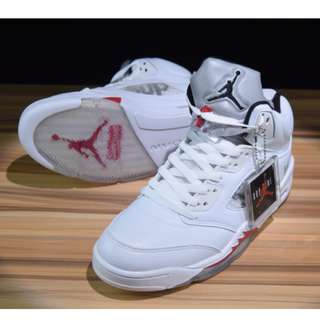 Air Jordan AJ5 sup 聯名 白色 36-46