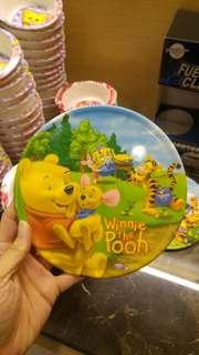 迪士尼小熊維尼鍋墊隔熱墊 直徑 19 * 高 0.8 CM 兩種圖樣