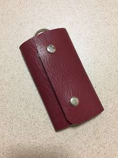 PU Leather Key Pouch Holder