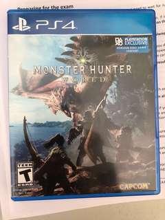 Ps4 Monster hunter world