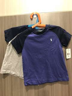 Polo Ralph Lauren Boy's 2T Tshirt Set