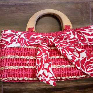 Pre Loved: Red Hand Bag