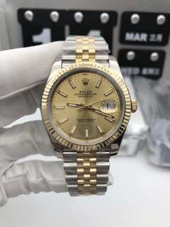 【Customer's Order】 Rolex Datejust 18K Yellow Gold  ✅
