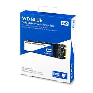 Western Digital WD Blue 500gb SSD m.2 m2 500 gb for desktop computer
