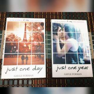 Just One Day & Just One Year by Gayle Forman