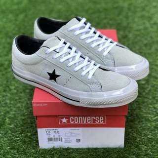 converse70 one star grey white