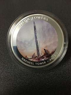 Silver coin mega towers year 2010