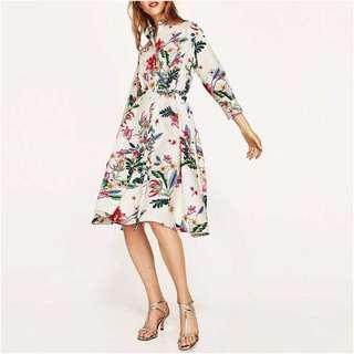 Longsleeves Floral Dress