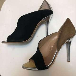 Zara mix tone heels size 7