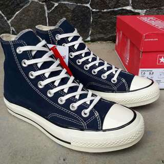 converse70s high dress blue
