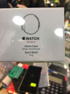 Apple Watch Series 3 42mm (GPS+Cellular) Silver