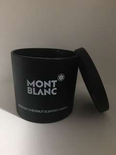 MONT BLANC ROASTED CHESTNUT SCENTED CANDLE 萬寶龍蠟燭