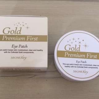 Secret Key Gold Premium First Hydrogel Eye Mask