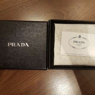 PRADA Men's Wallet Blue Colour
